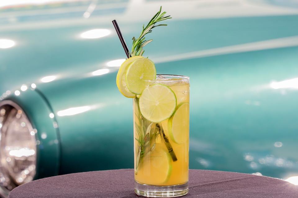 Glass, Summer, Drink, Liquid, Lemon, Lime, Cocktail