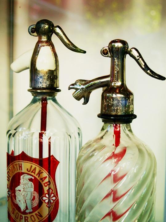Bottle, Siphon, Old, Water, Drink, Mechanic