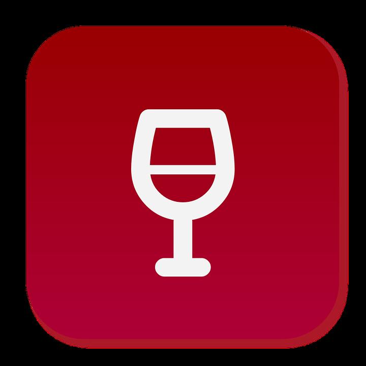Icon, Wine, Red, Drink, Restaurant, Symbol, Glass