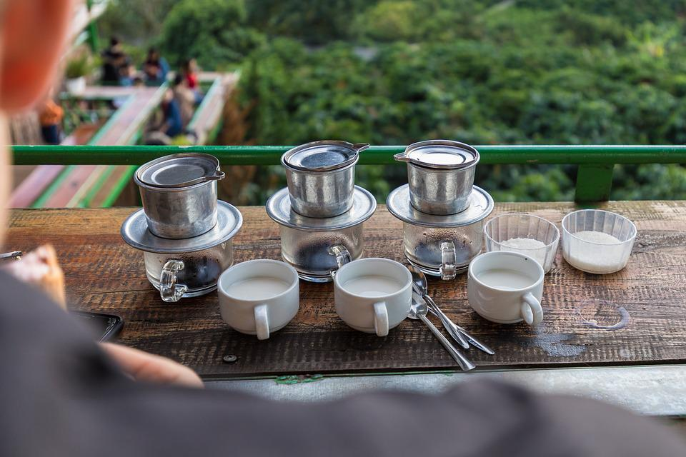 Coffee, Vietnam, Da Lat, Coffee Plantation, Drink