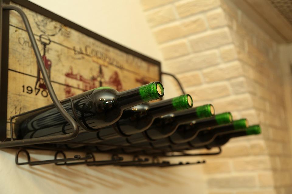 Wine, Bottle, Alcohol, Drink, Glass, Celebration, Bar