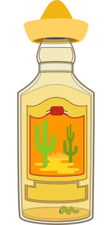 Graphic, Tequila, Tequila Bottle, Drinking, Alcohol