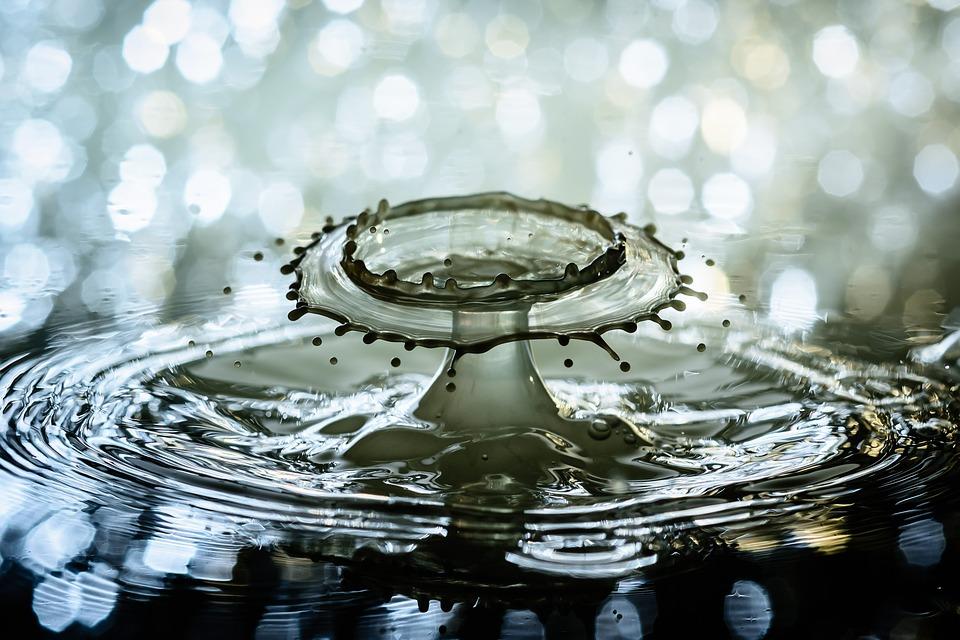 Water, Water Drop, Splash, Ripples, Drip, Drop Of Water