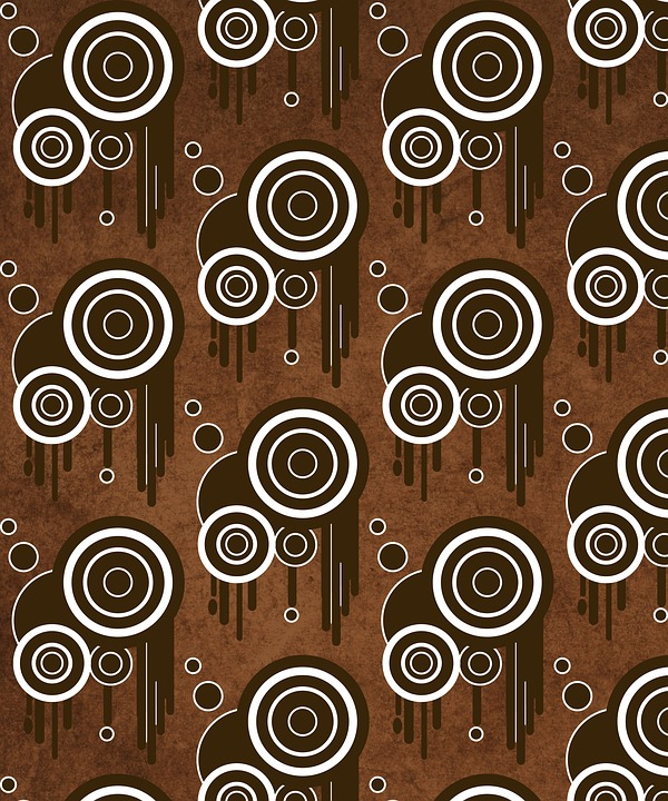 Abstract, Background, Brown, Swirls, Dripping