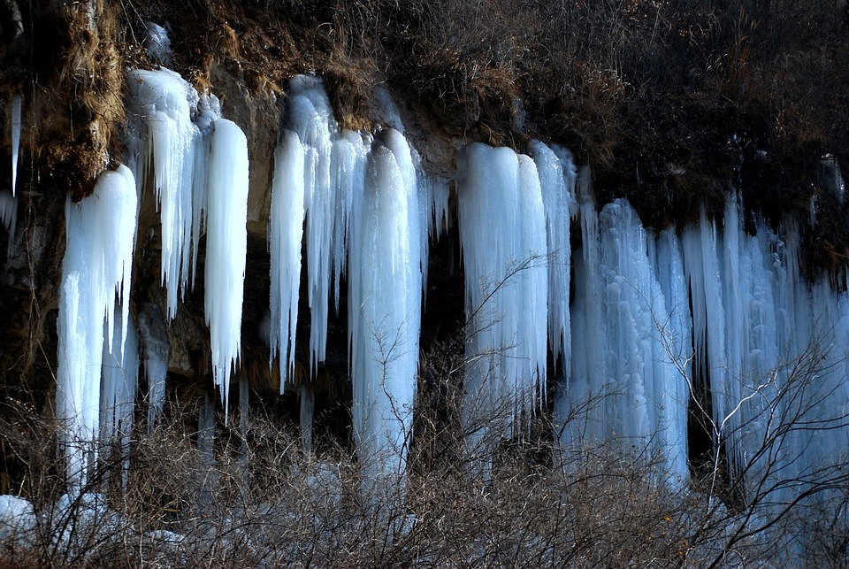 Ice, Frozen, Drip, Waterfall, Dripping, Mountains