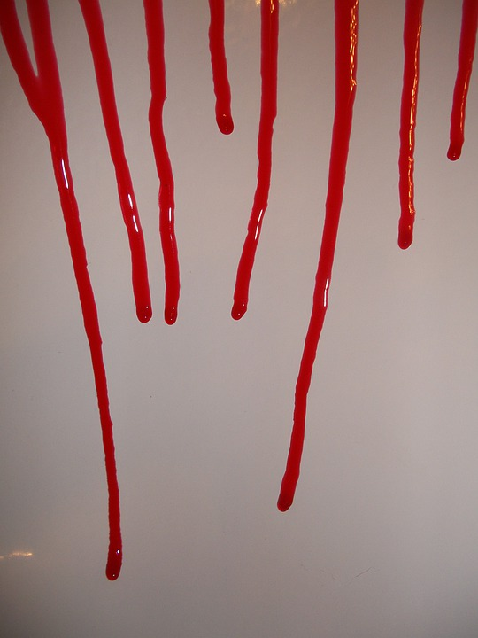Blood, Gore, Dripping, Runny, Bloody, Drips, Red Blood