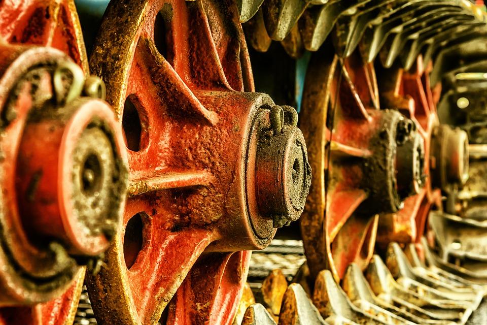 Vehicle, Wheel, Chain, Drive, Metal, Chain Drive