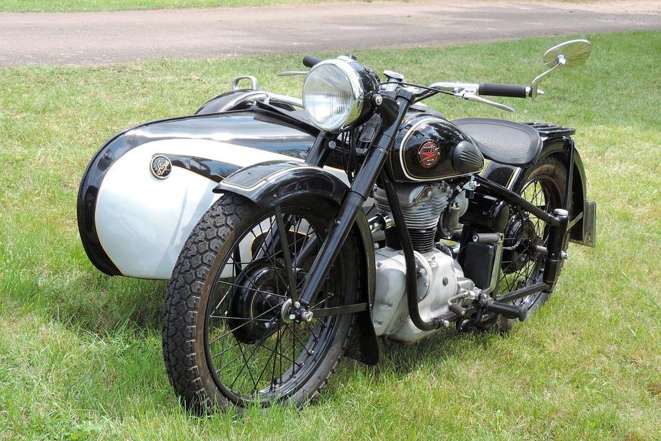 Oldtimer, Motorcycle, Drive, Transport System, Vehicle