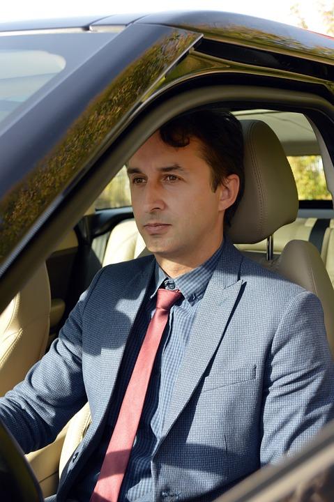 Man, Portrait, Driver, Person, People, Business