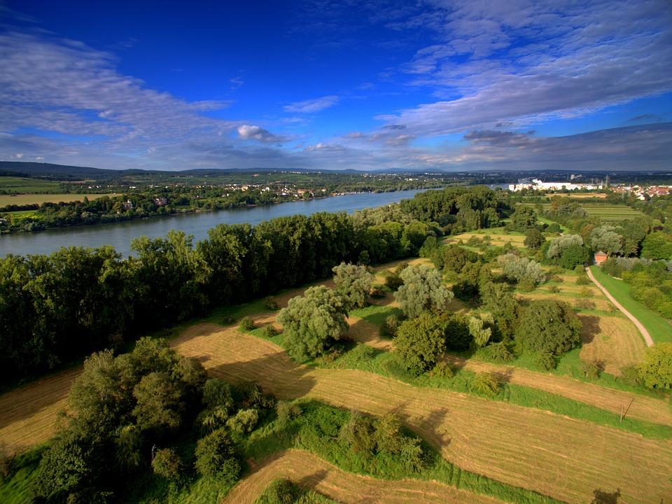 Aerial View, Drone, Quadcopter, Camera, Quadrocopter