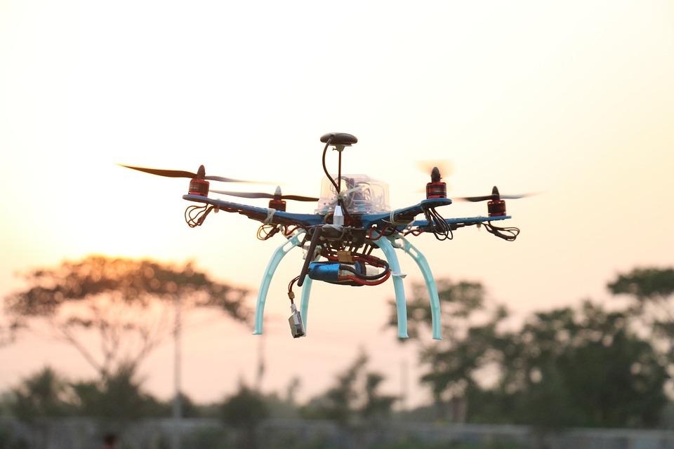 Drone, Quadcopter, Technology, Aircraft, Flight