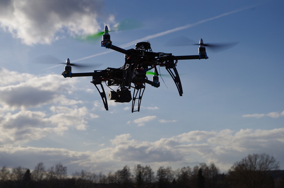 Drone, Quadrocopter, Aerial Photography