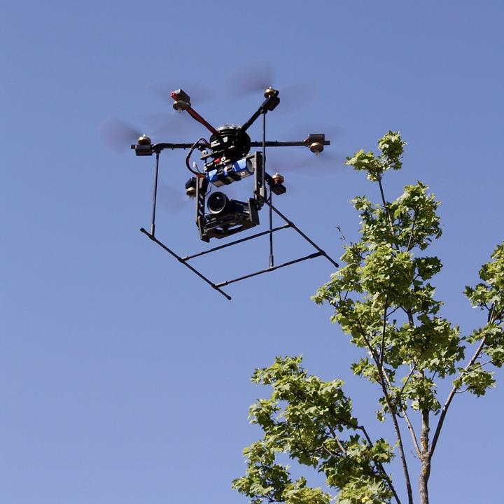 Drone, Aircraft, Sky