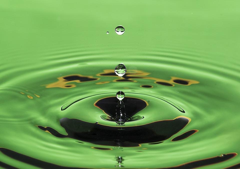 Drop, Macro, Water, Surface, Liquid, Drip