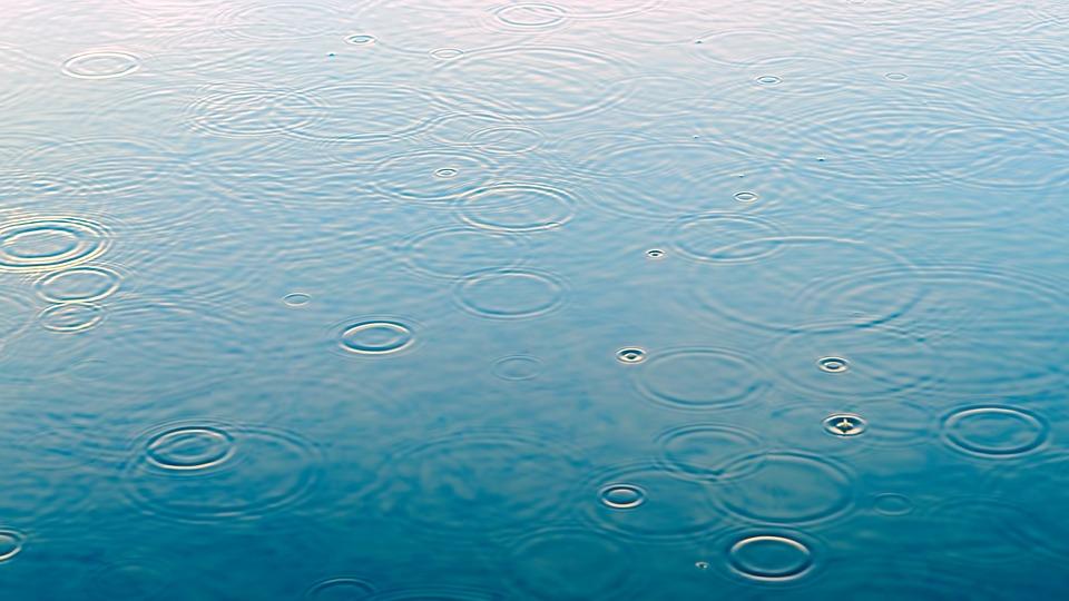 Raindrops, Puddle, Rain, Water, Rainy Weather, Droplets