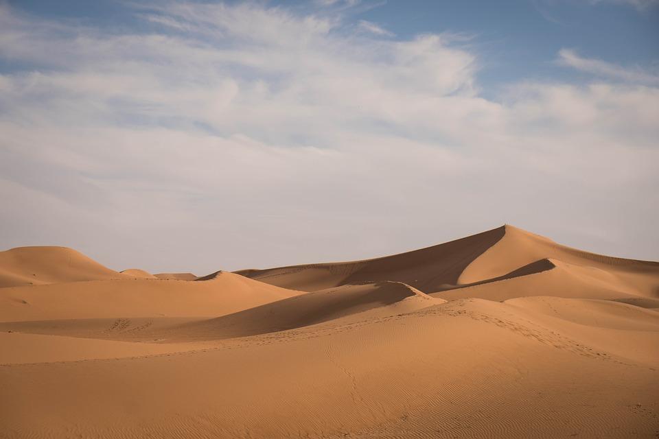 Desert, Sand, Dunes, Drought, Landscape, Nature, Sahara