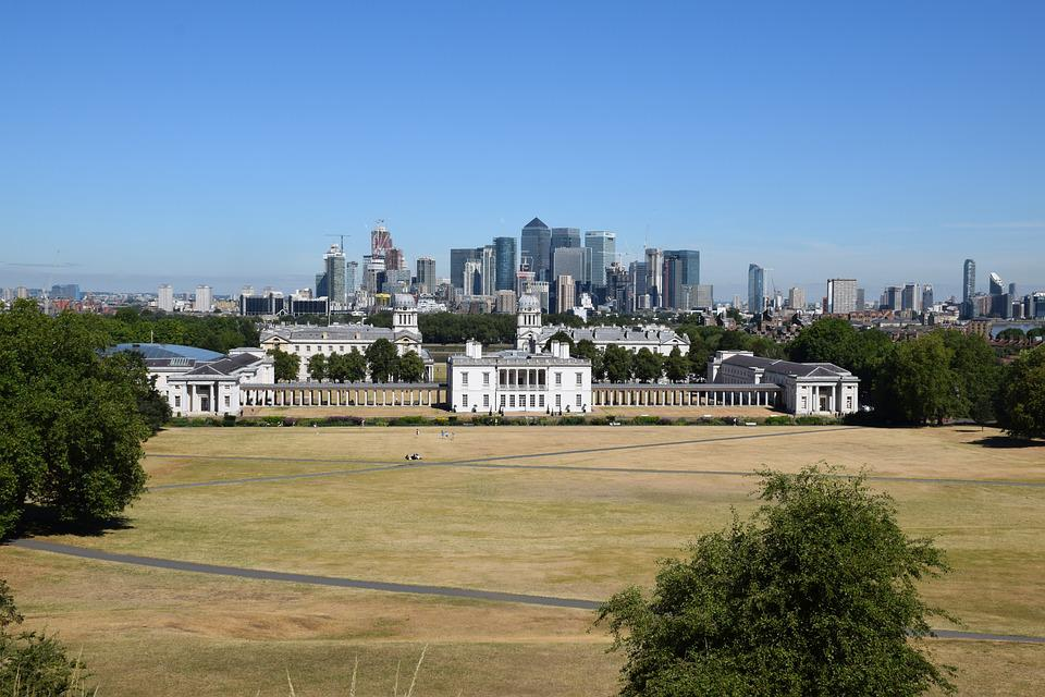 Greenwich, London, Drought, Great Britain, England