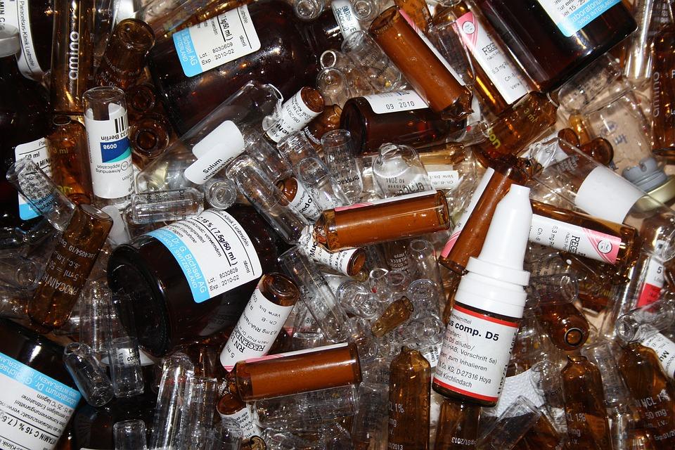 Medical, Drug, Medicinal Products, Ampoules, Bottle