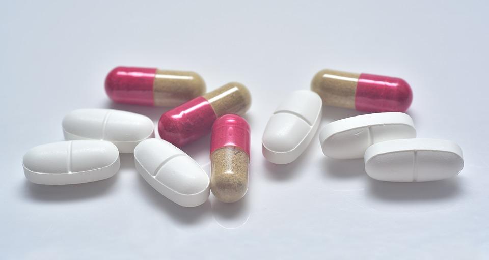 Tablets, Drug, Encapsulate, Antibiotics, Fork, Eat