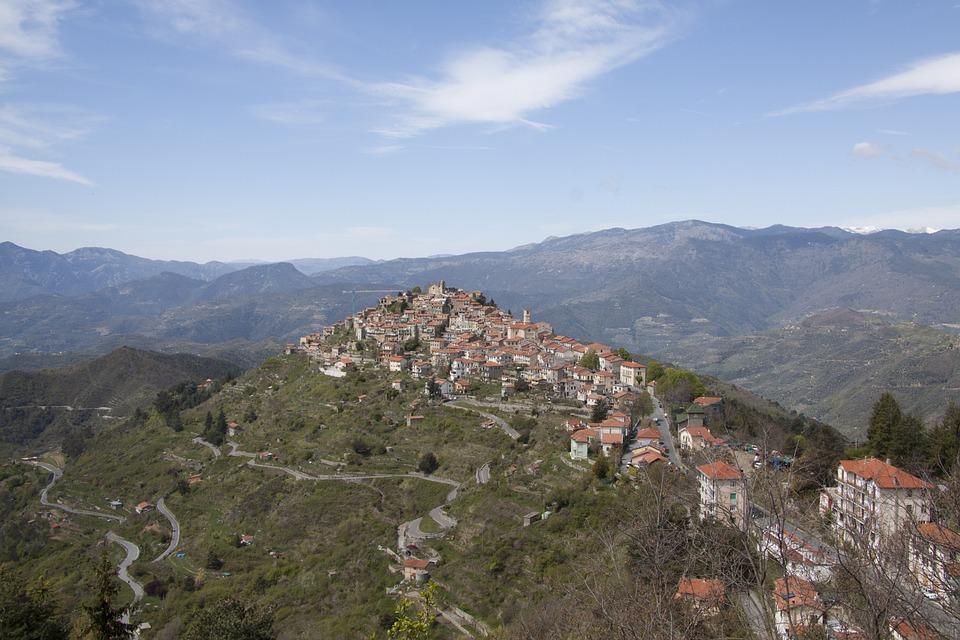 Italy Liguria, Bajardo, Druids, Druid Shrine