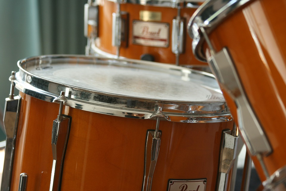 Drums, Musical Instrument, Music, Sound, Drum