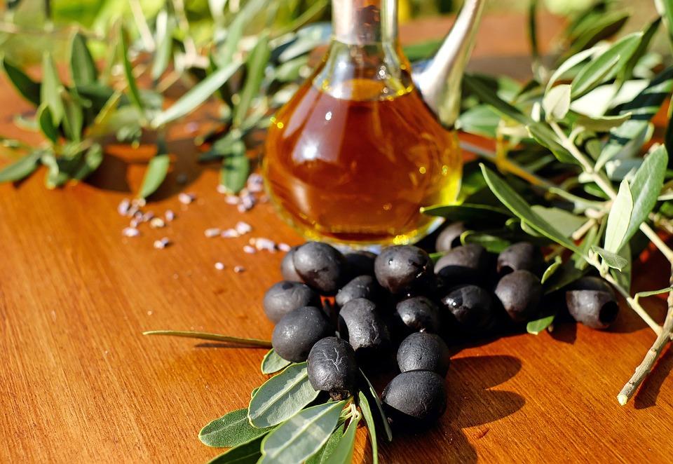Olives, Black, Black Olives, Drupe, Mediterranean