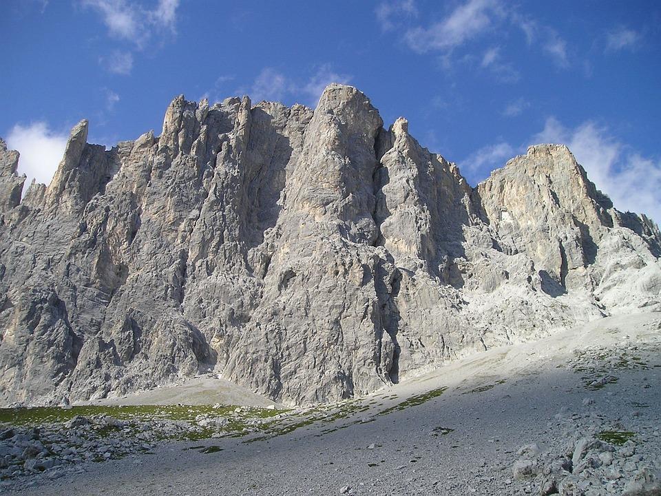 Mountains, Rätikon, Drusen Tower, Drusenfluh, Climb