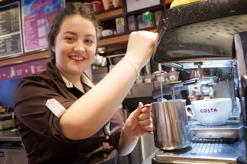 Costa, Coffee, Drink, Dry, Machine, Cup, Plantation