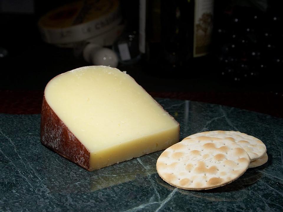 Dry Jack Cheese, Milk Product, Food, Ingredient, Eat