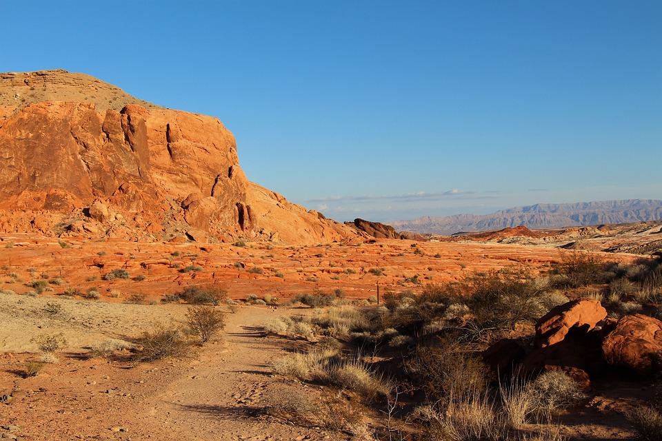 Desert, Nature, Landscape, Dry, No Person, Nevada