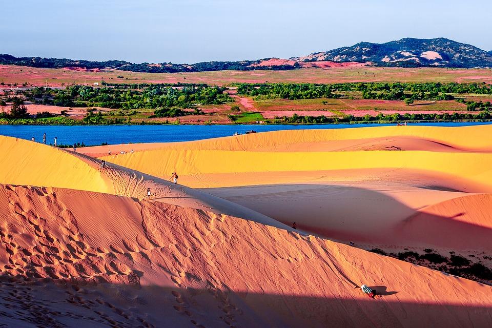 Sand Dunes, Sand, Dunes, Desert, Landscape, Dry, Hot