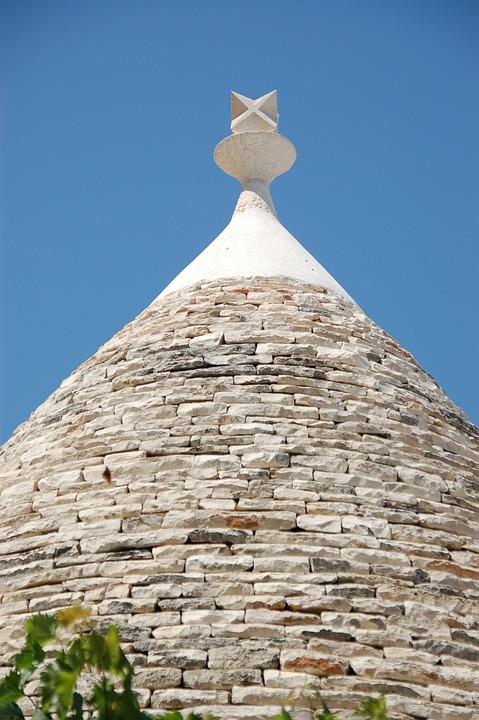 Trulli, Puglia, Roof, Italy, Hut, Apulian, Dry Stone
