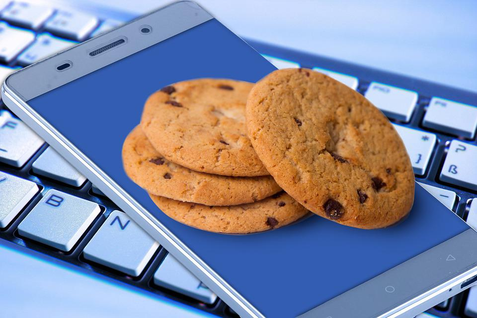 Cookies, Smartphone, Keyboard, Data Protection, Dsgvo