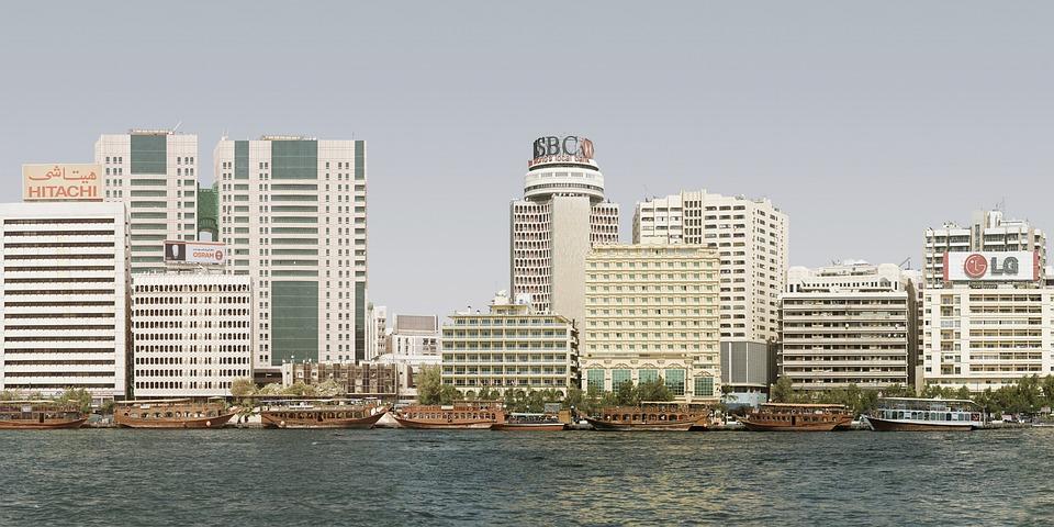 City, Creek, Lg, Dubai, Balconies, Cityscape