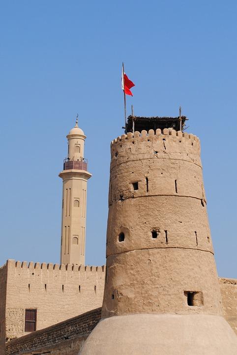 Dubai, Dubai Museum, Old Town, Arabic, Emirates