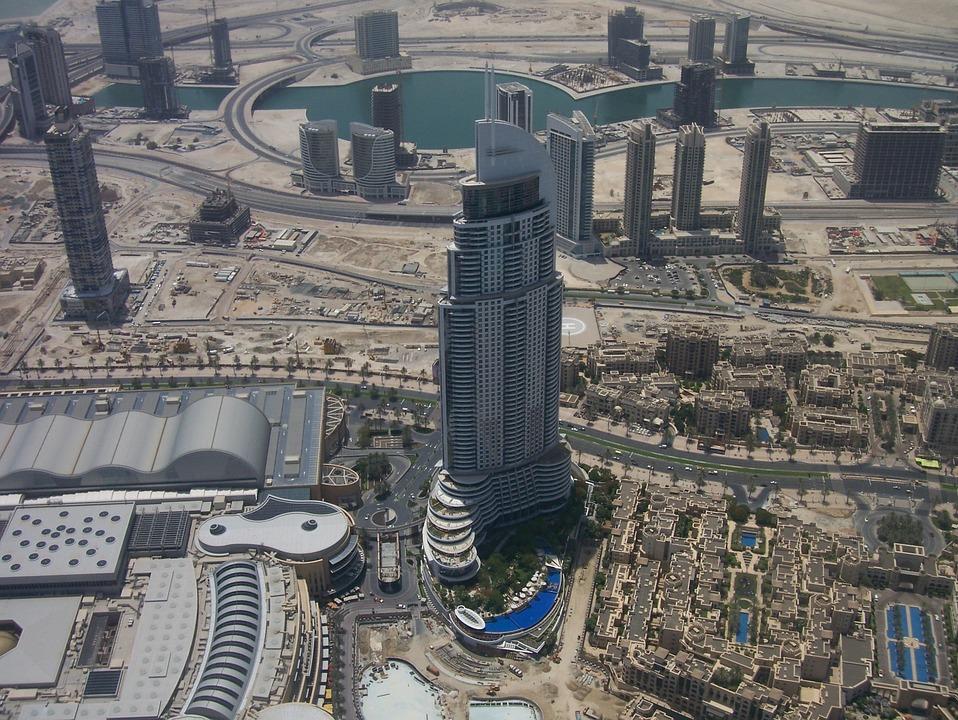 Dubai, View, Landmark, High, Dessert