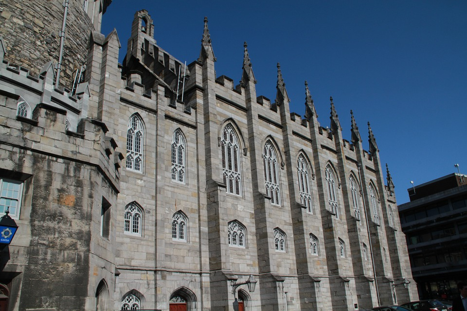 Dublin Castle, Church, Gargoyle, Monument, Buildings