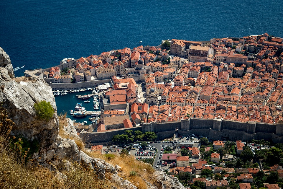Dubrovnik, Croatia, Europe, Old Town, Architecture