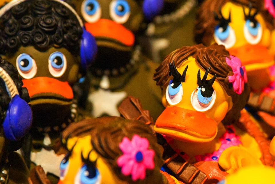 Free photo Duck Bath Duck Rubber Duckies Plastic Rubber Duck - Max Pixel