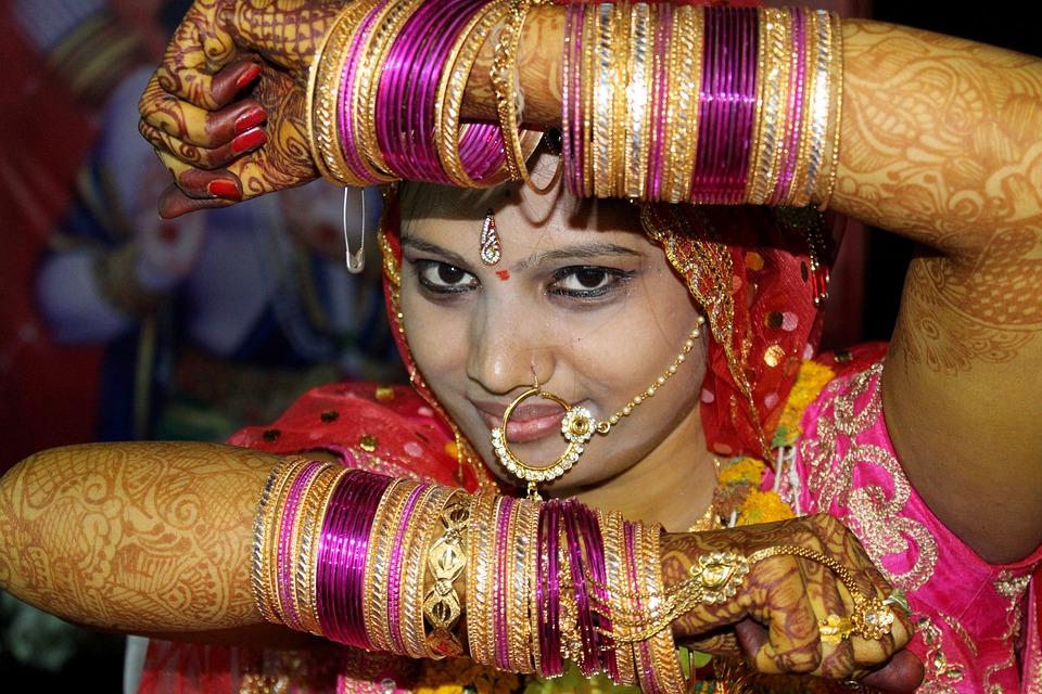 Indian Bride, Bride Make Up, Bride, Dulhan