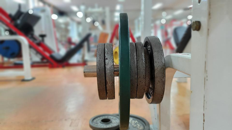 Dumbbell, Weights, Gym, Heavy, Weightlifting