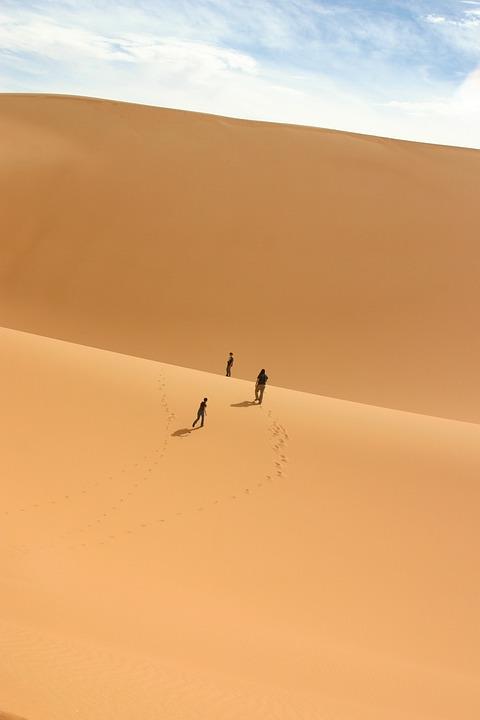 Desert, Sahara, Duna