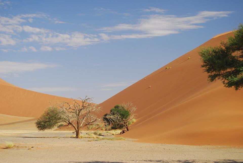 Sossusflei, Namibia, Desert, Sand, Africa, Dune