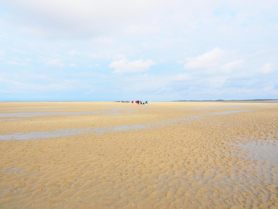Watts, Wadden Sea, Dunes, Dune Landscape, Sand