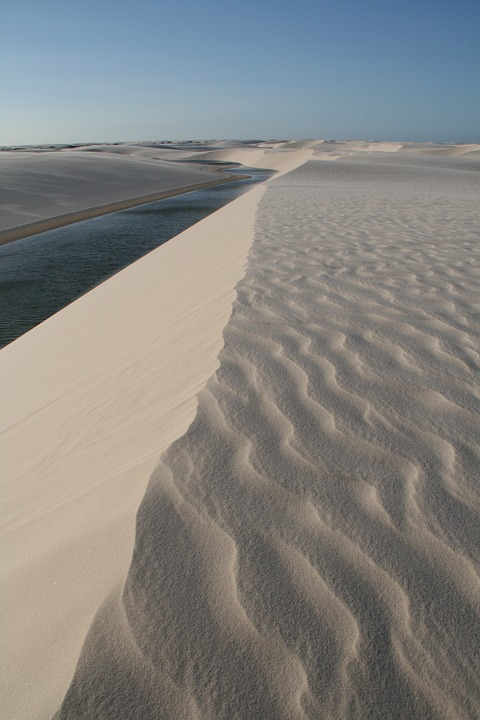 Nature, Dunes, Sand, Landscape, Water