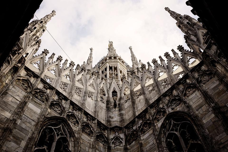Church, Milan, Italy, Duomo Di Milano