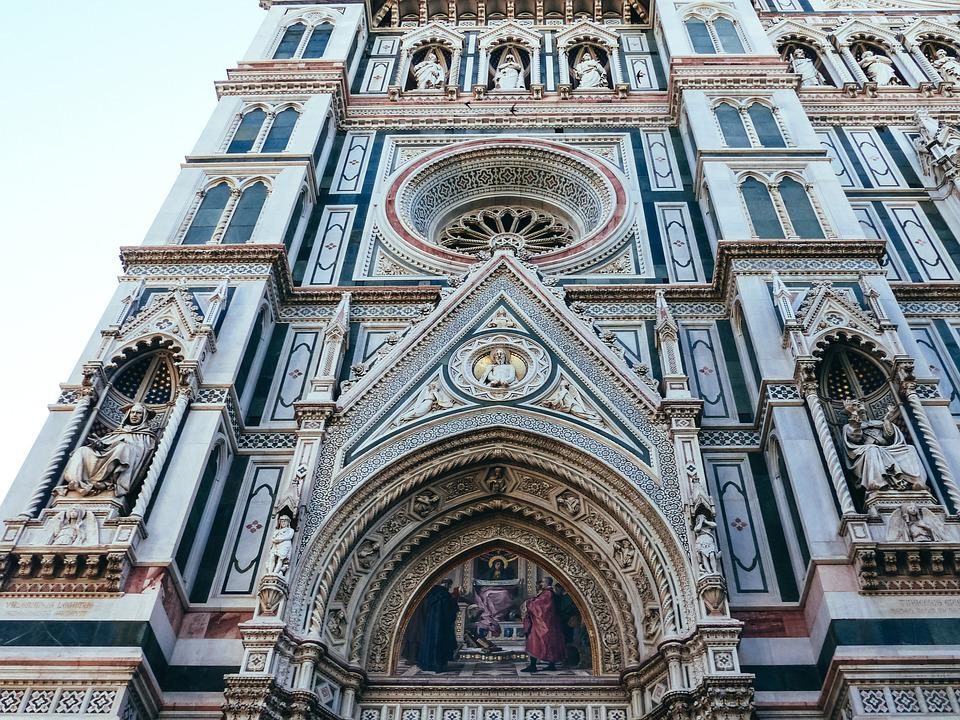 Florence, Duomo, Dome, Italy, Architecture, Church