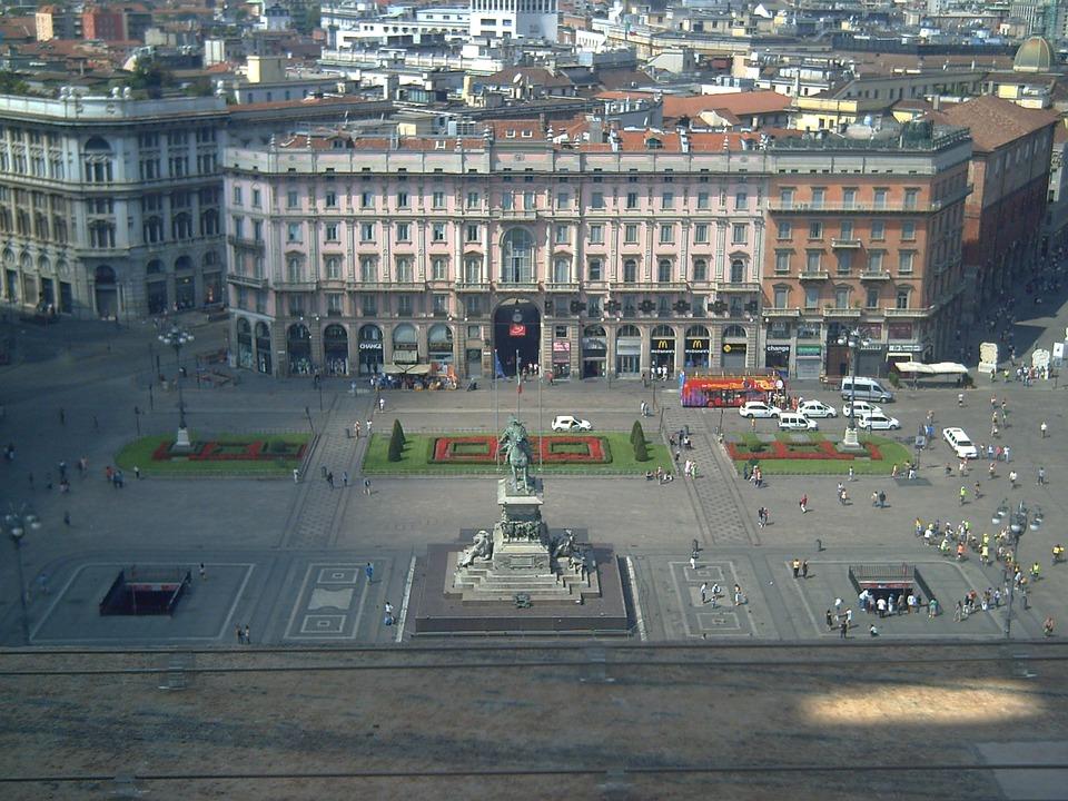 Plaza, Duomo, Milano