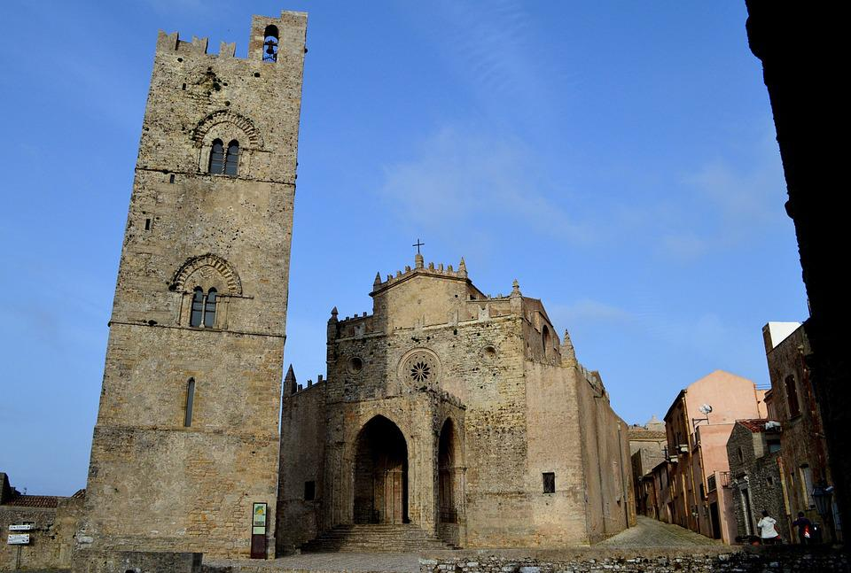 Erice, Duomo, Sicily, Middle Ages