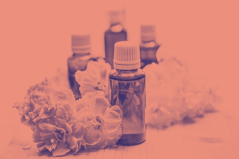Essential Oils, Alternative, Aroma, Duotone, Aromatic